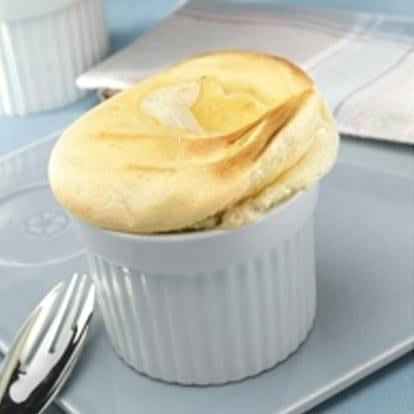 Soufflé met Le Rustique Camembert