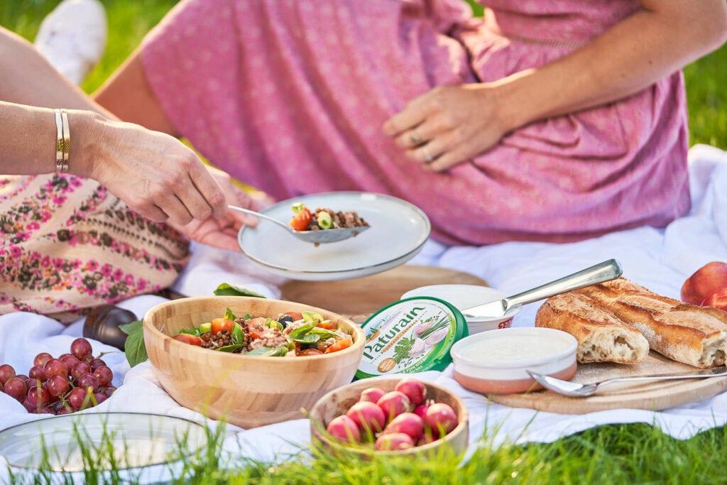 Recept: Provencaalse salade met linzen en een dressing van Paturain