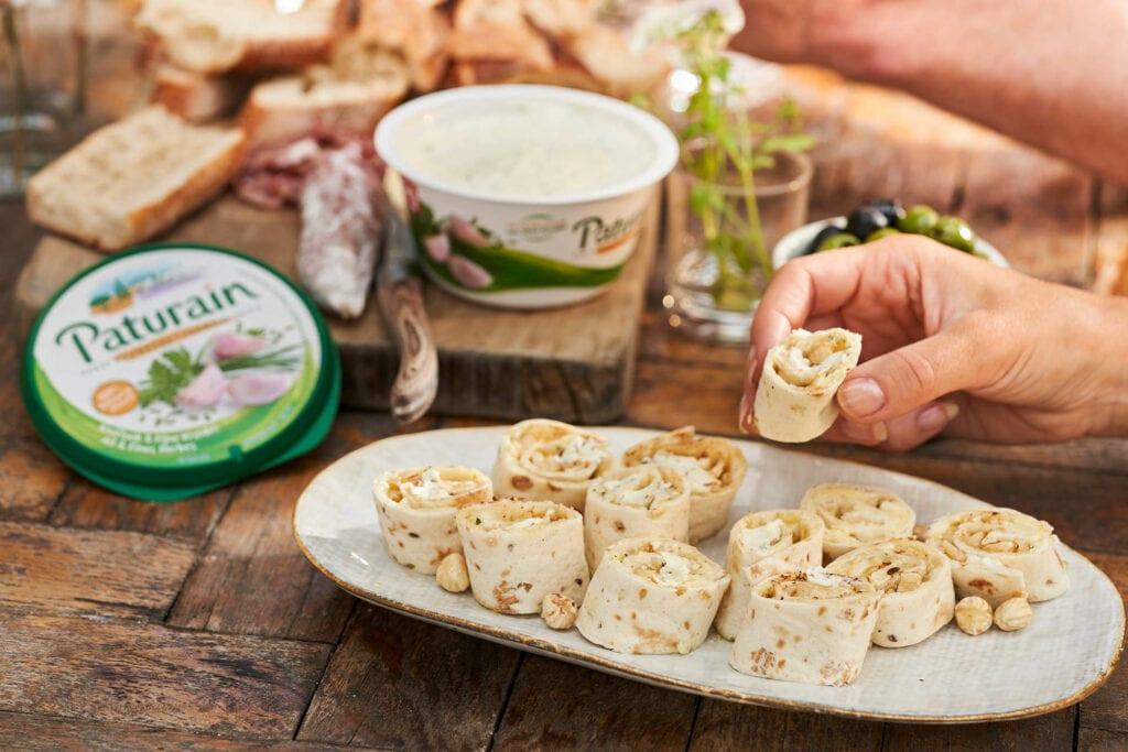 Recept : Paturain wraps met hazelnoten